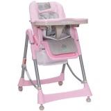 Scaun de masa Cangaroo Bon Apetit New roz