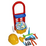 Carucior cu trusa unelte Ucar Toys Handy Tommy 18 piese