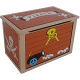 Ladita Style Treasure Chest brown