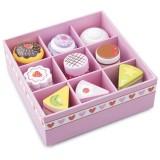 Set New Classic Toys 9 prajituri in cutie de cadou
