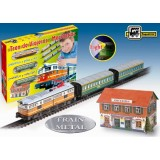 Trenulet electric calatori cu far si macheta (clasic) {WWWWWproduct_manufacturerWWWWW}ZZZZZ]