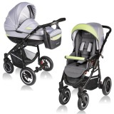 Carucior Vessanti Crooner 2 in 1 green gray