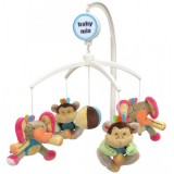 Carusel muzical Baby Mix Elephant & Monkey