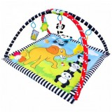 Covoras de joaca Sun Baby Panda cu Pian
