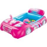 Masinuta gonflabila Bestway Barbie cu 25 de bile