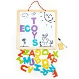 Tabla educationala Ecotoys ESC-W-018A 3 in 1