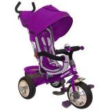 Tricicleta cu copertina Baby Mix Sunny Steps violet