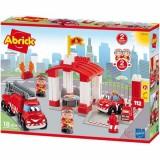 Joc de construit Ecoiffier Abrick Statie de pompieri