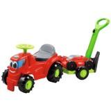 Masinuta Ecoiffier Tractor si Masina de tuns iarba 2 in 1