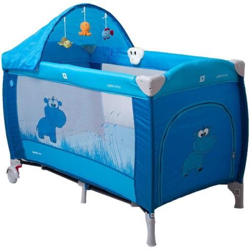 Patut Coto Baby Samba Lux albastru