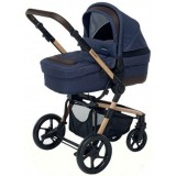 Carucior Foppapedretti iWood 3 in 1 denim