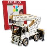 Joc creativ Todo 3D Fire Truck