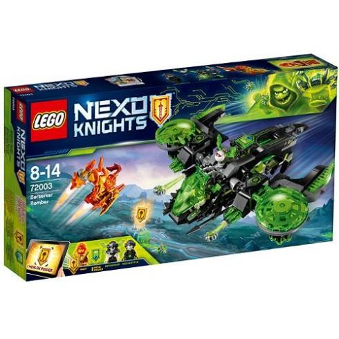 LEGO NEXO KNIGHTS Bombardierul Berserkerului 72003