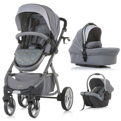 Carucior Chipolino Up & Down 3 in 1 granite grey