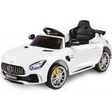 Masinuta electrica Toyz Mercedes AMG GTR 2x6V white