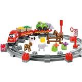 Set constructie Ecoiffier Abrick Country Train
