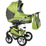 Carucior Vessanti Flamingo Easy Drive 3 in 1 green