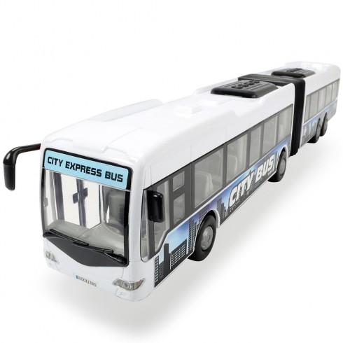 Autobus Dickie Toys City Express Bus alb
