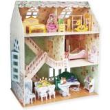 Puzzle 3D Cubic Fun Casa de vis a papusilor