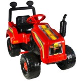 Tractor Super Plastic Toys Mega Farm red