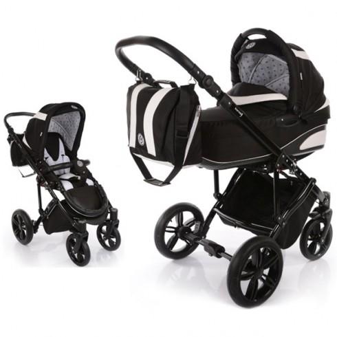 Carucior Volkswagen Carbon Optik Knorr-Baby 2 in 1 black