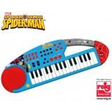 Orga electronica cu microfon Spiderman {WWWWWproduct_manufacturerWWWWW}ZZZZZ]
