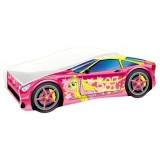 Patut MyKids Race Car 08 Pink 160x80