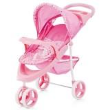 Carucior pentru papusi Chipolino Trixi pink