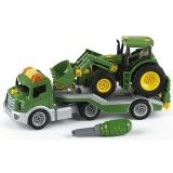 Jucarie Klein Trailer cu tractor John Deere