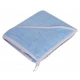 Prosop cu gluga PJ Baby 100x100 cm blue