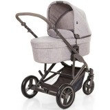 Carucior Circle ABC Design Catania 4 2 in 1 woven grey