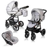 Carucior Vessanti Crooner Prestige 3 in 1 light gray