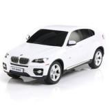 Masinuta Rastar BMW X6 1:24 alb