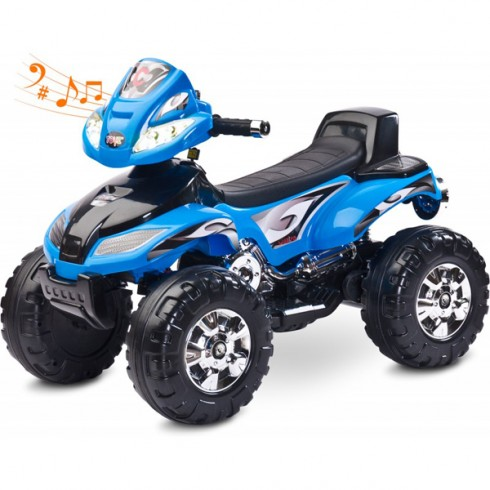 ATV Toyz Quad Cuatro 6V blue