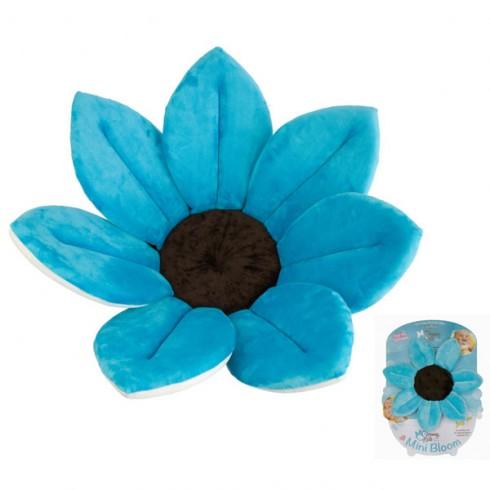 Cadita de plus Blooming Bath si buretel albastru