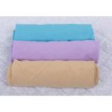 Set 3 x Cearsaf Babyneeds cu elastic 120x60 cm bleu lila cappucino