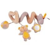 Spirala plush Baby Mix Soricel