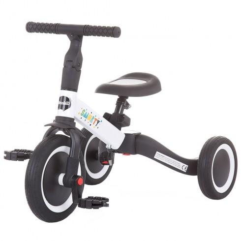 Tricicleta si bicicleta Chipolino Smarty 2 in 1 white {WWWWWproduct_manufacturerWWWWW}ZZZZZ]
