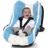 Husa pentru scaun auto Wallaboo blue