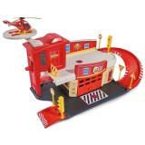 Pista de masini Dickie Toys Fireman Sam Fire Rescue Center cu elicopter si accesorii {WWWWWproduct_manufacturerWWWWW}ZZZZZ]