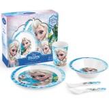 Set pentru luat masa Lulabi 5 piese Frozen