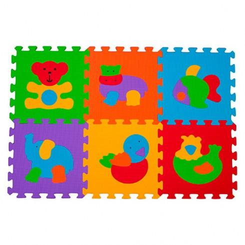 Covoras de joaca din spuma Baby Ono 277 6 piese