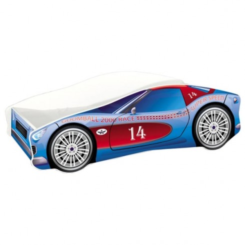 Patut MyKids Race Car 02 Blue 160x80