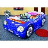 Patut Plastiko Sleep Car Tip 2 albastru