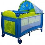 Patut pliabil cu 2 nivele Eurobaby Dream albastru {WWWWWproduct_manufacturerWWWWW}ZZZZZ]