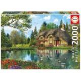 Puzzle Educa Cabana de pe lac 2000 piese