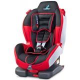 Scaun auto Caretero Sport Turbofix cu sistem Isofix red