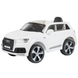 Masinuta electrica Chipolino SUV Audi Q7 white cu roti EVA {WWWWWproduct_manufacturerWWWWW}ZZZZZ]