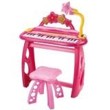 Orga electronica Bontempi I Girl cu 31 clape scaun si microfon