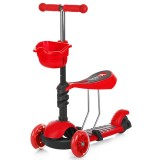 Trotineta Chipolino Kiddy red